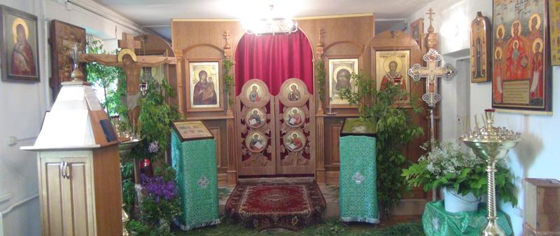 храм в Борисовке