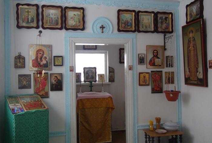 домовый храм в Кроуновке